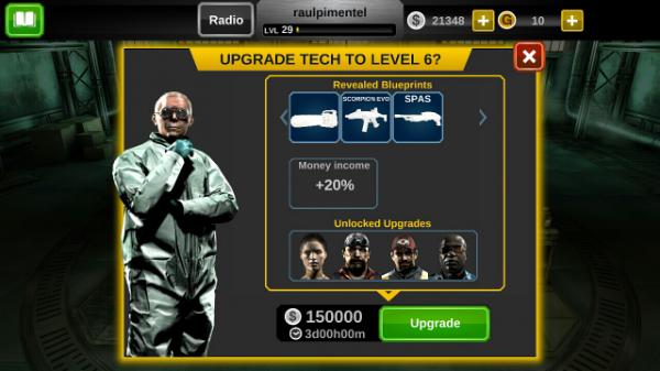 Dead Trigger 2 Upgrades