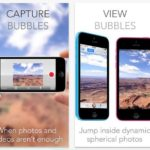 Enjoy Android's PhotoSphere feature on the iPhone thru the Bubbli app