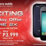 Cherry Mobile Flare 2X goes on sale for Php3,999 on Nov 15 to 17