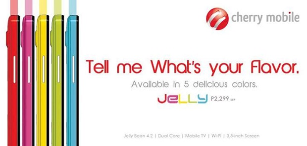 Cherry Mobile Jelly Features, Specs, Availability, Price