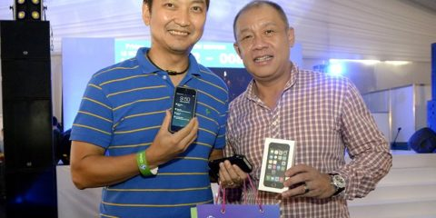 Globe iPhone launch for a cause