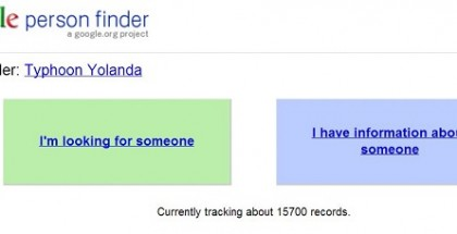 Google Person Finder