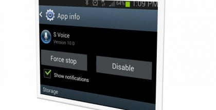 How to disable Android apps