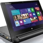 Lenovo Flex 10 laptop: Windows 8.1, Bay Trail CPU, 500GB storage, dual mode