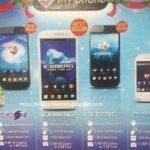 MyPhone Agua Iceberg mini, MyPhone Cyclone, MyPhone Storm spotted