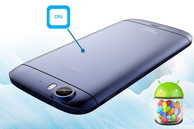MyPhone Iceberg Mini Back