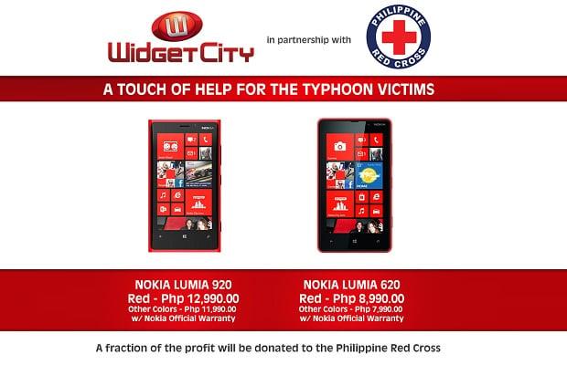 Widget City, Red Cross launch fundraising program