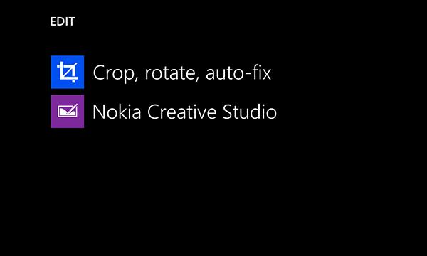 Nokia Pro Cam, Nokia Creative Studio, Refocus