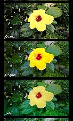 Photo effects on Nokia Lumia 1020