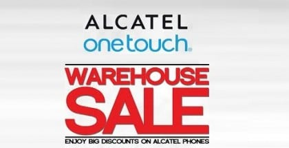 Alcatel One Touch Warehouse Sale