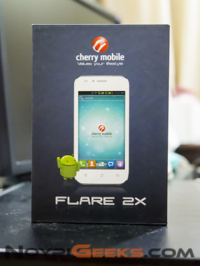 Box of Cherry Mobile Flare 2X