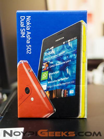 Nokia Asha 502 Review - NoypiGeeks