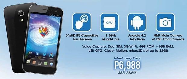 MyPhone Cyclone specs