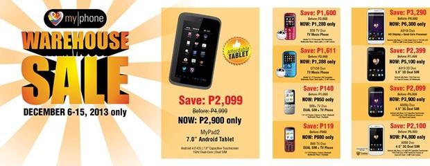 myphone-warehouse-sale