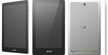 Acer Tab 7 multiple views