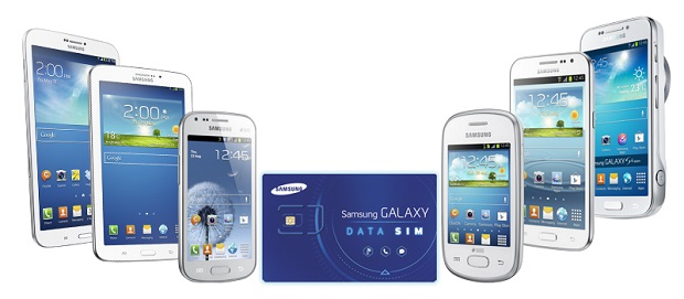 Samsung Galaxy Data SIM promo