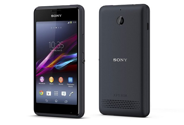 Sony Xperia E1 front and back