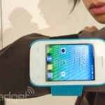 Alcatel One Touch Pop Fit: wearable smartphone with 2.8-inch display