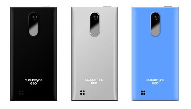 Cloudfone GEO 400q color variants