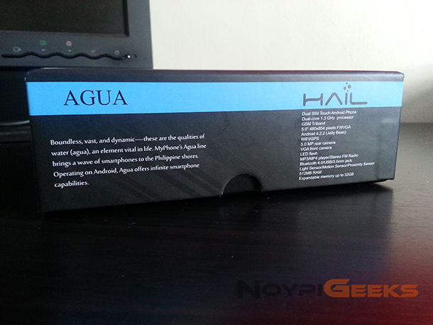 MyPhone Aqua Hail Unboxing and Review 15
