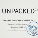 Samsung Galaxy S5 to be unveiled at Unpacked 5 event on February 24