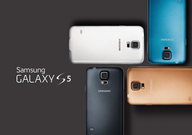 Samsung Galaxy S5 color variants