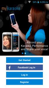 My Karaoke App - MyPhone