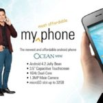 MyPhone Ocean Mini: 3.5-inch display, 1GHz dual core processor, 4.2 Jelly Bean