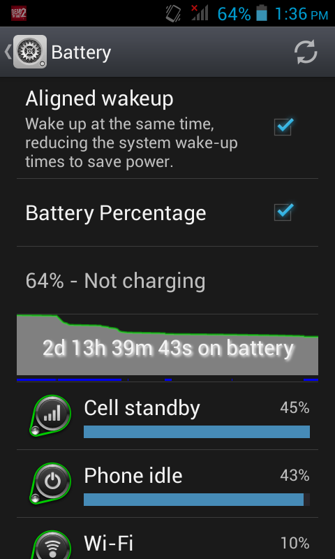 Starmobile Play Battery life