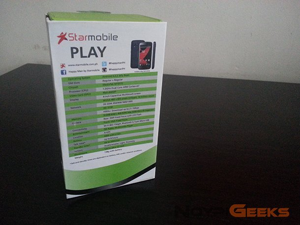 Starmobile Play Specs