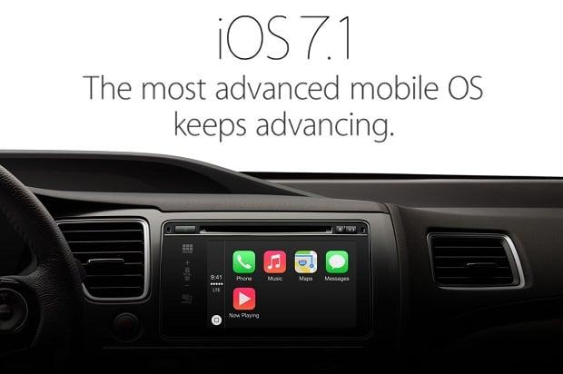 iOS 7.1 update