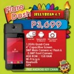 Cherry Mobile Flare Dash: dual-SIM quad-core Android smartphone for Php3,699