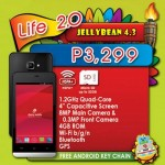 Cherry Mobile Life 2.0, Axis, Flare S2: new quad-core smartphones under Php5,000