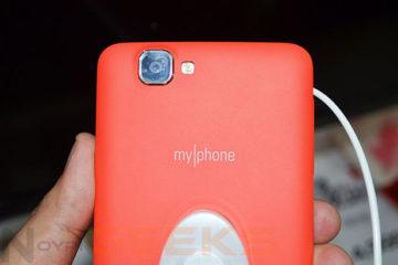 MyPhone Rio Camera