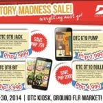 DTC's Inventory Madness Sale begins today