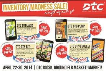 DTC Inventory Madness Sale