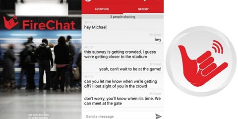 FireChat for iOS, Android