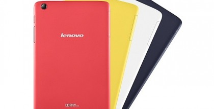 Lenovo A8-50 color variants