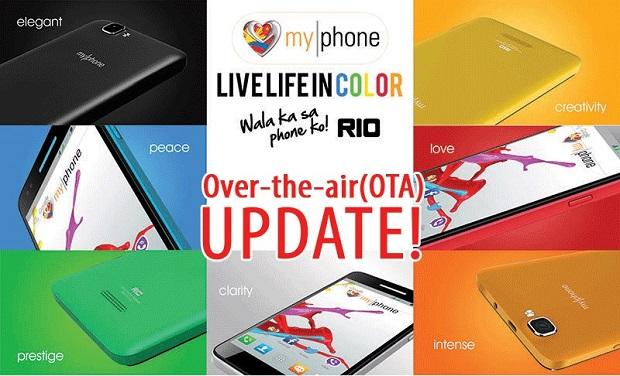 MyPhone Rio update