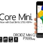 Torque Droidz Mini Q: quad-core 3G tablet for Php7,699