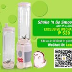 Beat the summer heat with this Shake 'n Go Smoothie Maker by Lazada via WeChat