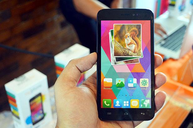 MyPhone Rio Fun Screen