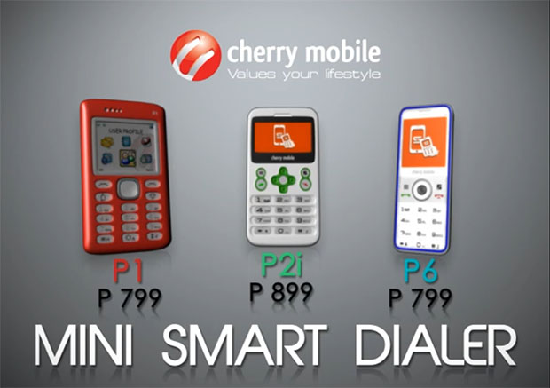 Cherry Mobile P2i and P6