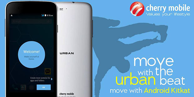 Cherry Mobile Urban Official Teaser Move to the Beat