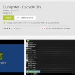 App Spotlight: The Dumpster – Recycle Bin for Android