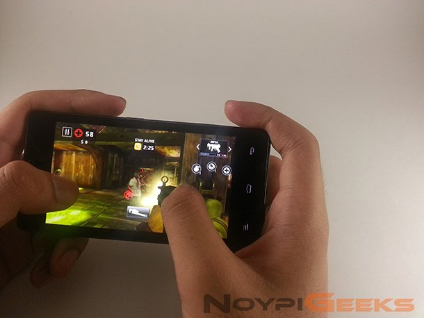 Gionee Pioneer P4 Gaming Test