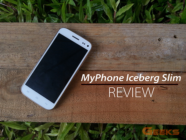 MyPhone Iceberg Slim Review