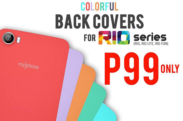 MyPhone Rio Series Back Covers