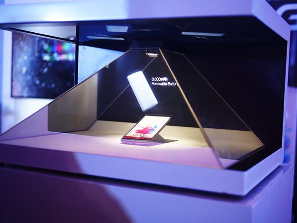 LG G3 Hologram