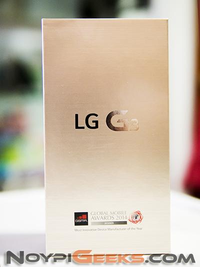 LG G3 Box